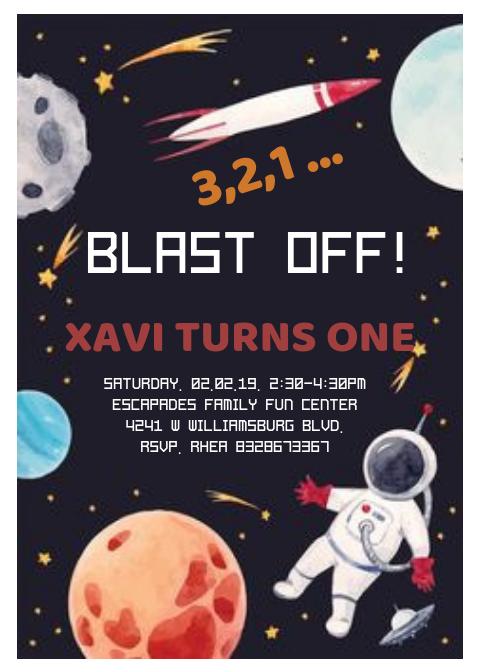 Xavi's Invite